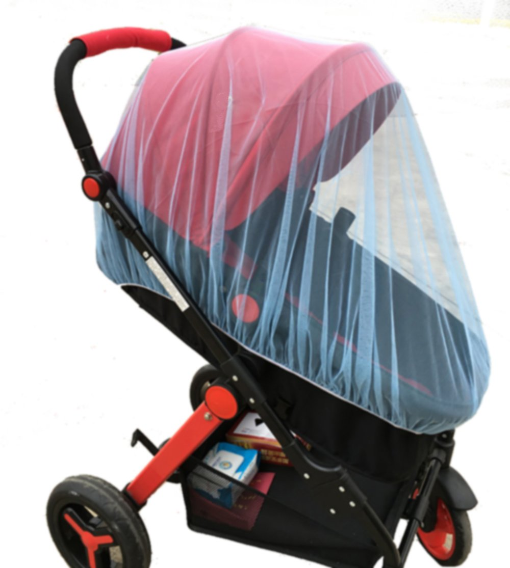 ThreeH Baby Mosquito Net for Cradles Strollers Cribs Portable Durable Insect Netting BX07,Pink H-BX07Pink
