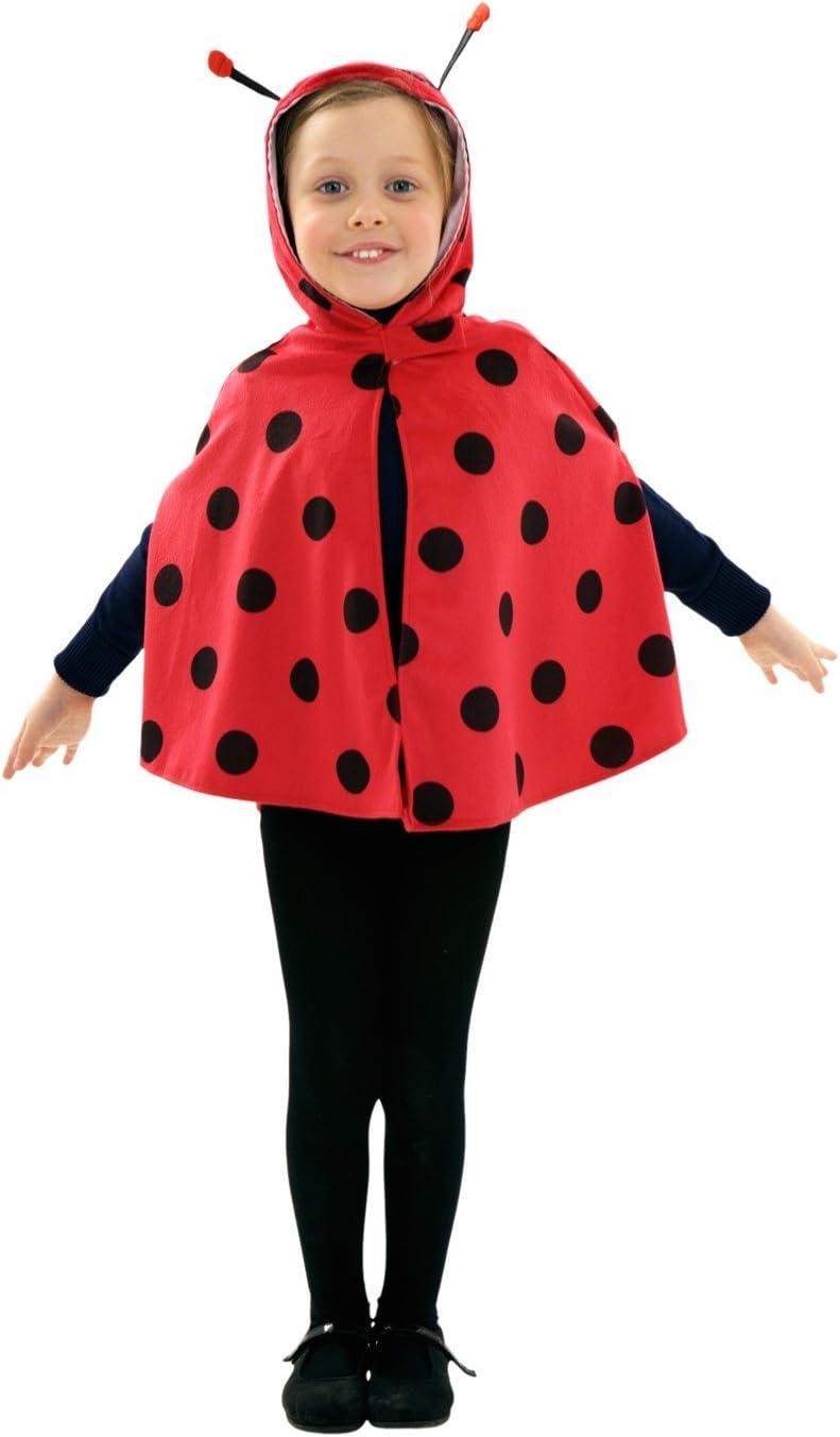 Disfraz de Mariquita para niñas de 1 a 2 años: Amazon.es: Juguetes ...