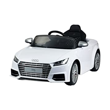 Audi 6V Kids Electric Ride On Car With Remote Control   White