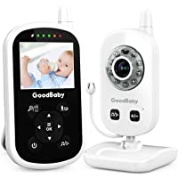Video Baby Monitor with Camera and Audio - Auto Night Vision,Two-Way Talk, Temperature Monitor, VOX Mode, Lullabies…
