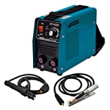 Armateh 200A Kompakt Elektrodenschweißgerät bis 4,5mm Elektroden, Inverter Schweißgerät MMA, ARC, Lichtbogenschweißgerät, Einschaltdauer 100 leicht nur 5kg