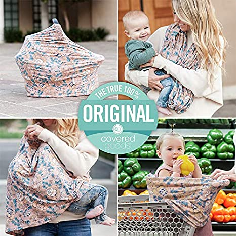 Mosaic Nursing Scarf 4-in-1 Breastfeeding and Car Seat Cover
