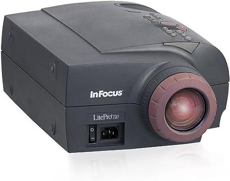 LCD-proyector INFOCUS LitePro{720} (SVGA 800 x 600, contraste 225 ...