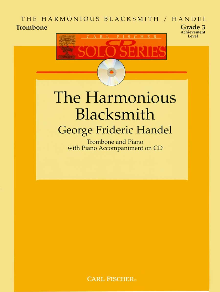 Download The Harmonious Blacksmith - Trombone and Piano with CD ebook
