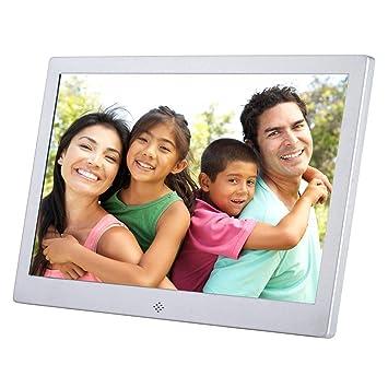 Marco de fotos digital de 30,48 cm con sensor de movimiento de memoria HD