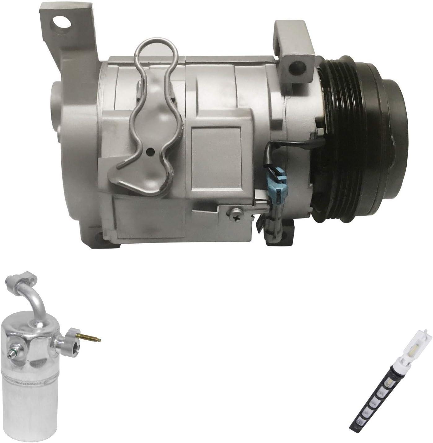 Tahoe Silverado 1500 Suburban New A//C Compressor Kit w// Condenser KT 4037A