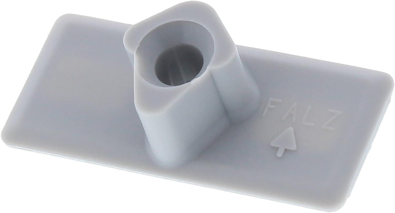 chiusura a scatto chiusura antivento con manicotto incluso set di viti ToniTec/® KL-FR 6 chiusura per porta del balcone Roto NT B3 260459 H 18//20 mm porta per terrazzo balcone//balconi