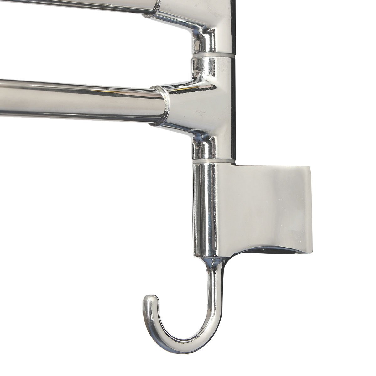 Vivona Hardware & Accessories Bathroom Kitchen Wall Mounted Rotating Towel Rack Storage Hold by Vivona (Image #3)