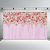COMOPHOTO Party Photography Backdrops Flower Tracery Wall Wedding Photo Background for Photo Studio Pictures 5x7ft