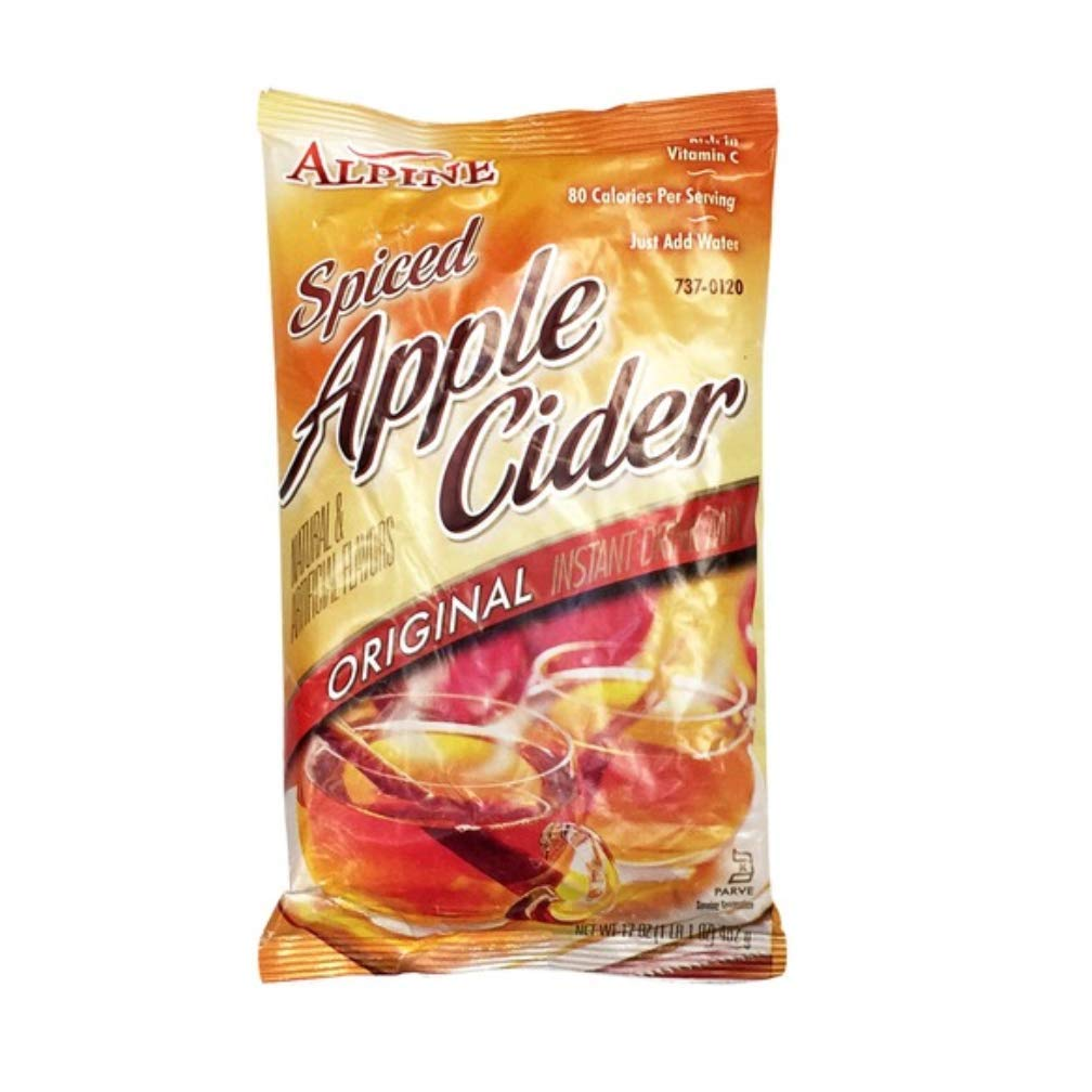 Alpine Spiced Apple Cider Original Instant Drink Mix, 17 ounces (Pack of 12)