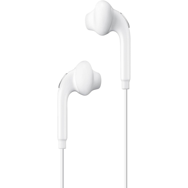 Samsung BT-EOEG920BW - Auriculares in-ear oficiales para Galaxy S6 (micrófono, 3.5 mm, cable de 1.2 m), color blanco- Version española: Amazon.es: ...