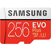 Samsung 256GB EVO Plus Class 10 Micro SDXC with Adapter (MB-MC256GA)