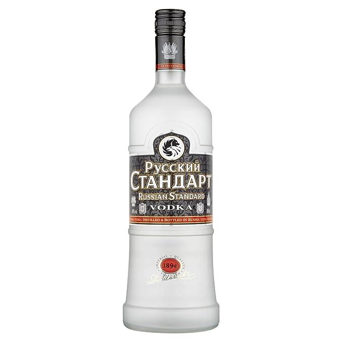 10 opinioni per Vodka Russian Standard Original 1 lt.