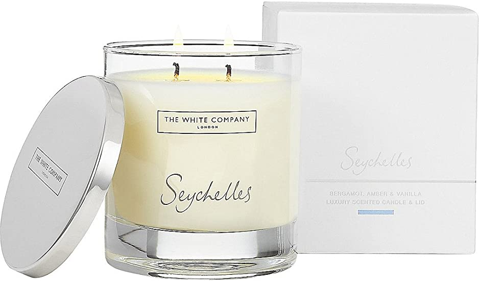 Candle Inspired by The White Company Seychelles
