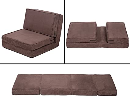 Awe Inspiring Bestmassage Fold Down Chair Flip Out Lounger Convertible Sleeper Bed Couch Game Dorm Guest Creativecarmelina Interior Chair Design Creativecarmelinacom