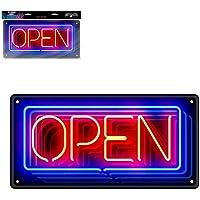 Stc Placa Efecto Neon Open