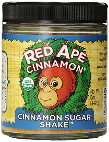 Red Ape Cinnamon Sugar Shake, Cinnamon, 5 Ounce by Red Ape Cinnamon®