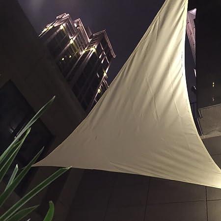 Amazon.com : Smartcoco UV Waterproof Triangles Sun Shade Awning Outdoor Courtyard Swimming Pool Gazebo Canopy Shading Hot Beige 3x4x5M : Patio, ...