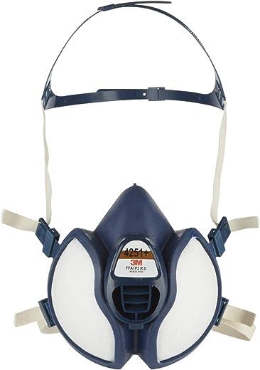 3M Atemschutz-Maske 4251+, A1P2, Halbmaske für Farbspritzarbeiten, 1 pro Packung