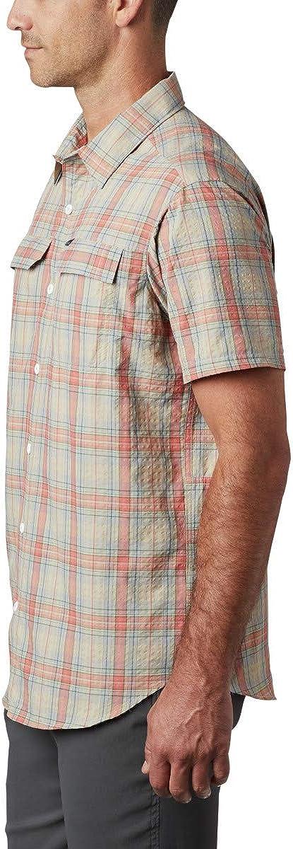 Columbia Mens Silver Ridge SS Seersucker Shirt