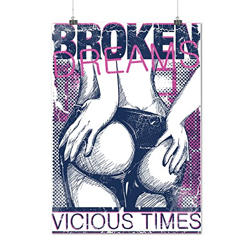 Vicious Vampire Costumes (Broken Dreams Vicious Time Bum Matte/Glossy Poster A1 (24x33 inches)   Wellcoda)