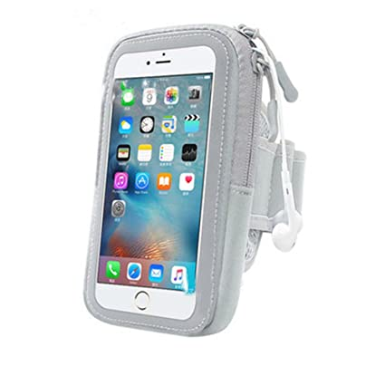 free shipping f8b78 3685c Amazon.com: Sports Armband: Cell Phone Holder Case Arm Band Strap ...