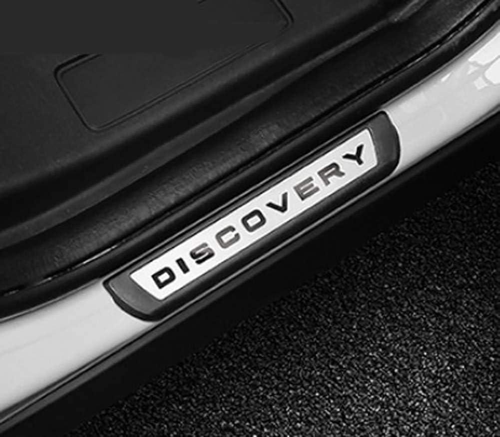 ZPDM 4 St/ücke Auto Externe Einstiegsleisten Verschlei/ßplatte Trim Schwellenschutz F/ür Land Rover Discovery Sport 2015-2019 F/ür Discovery 5 17-19