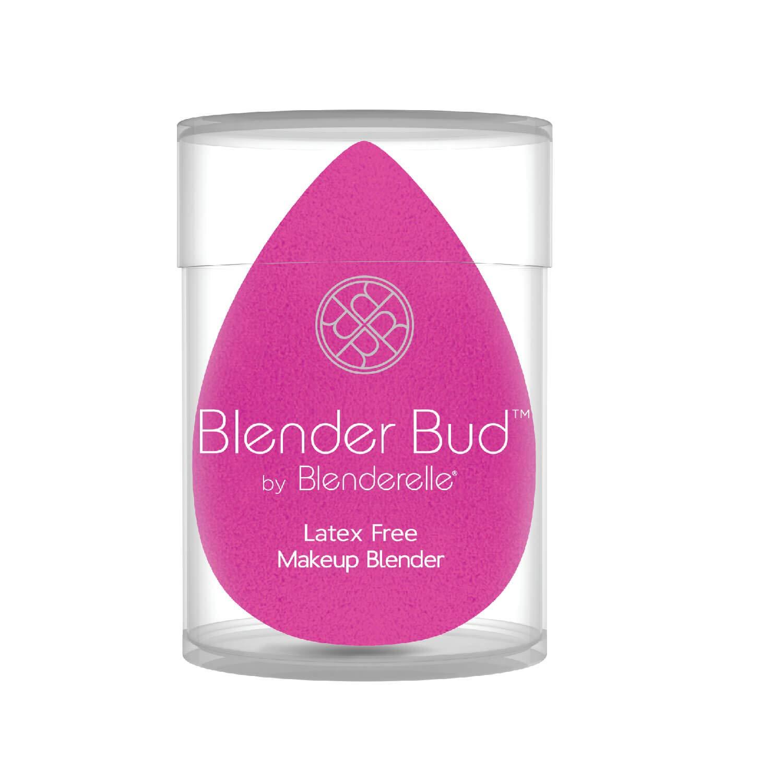 Blender Bud Makeup blender sponge airbrush finish latex free super soft (Pink)