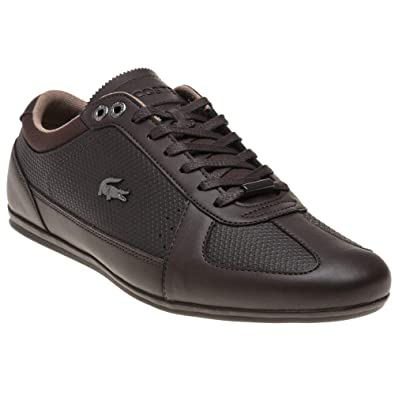 0df1ff2e5 Lacoste Evara Trainers Brown 10 UK  Amazon.co.uk  Shoes   Bags