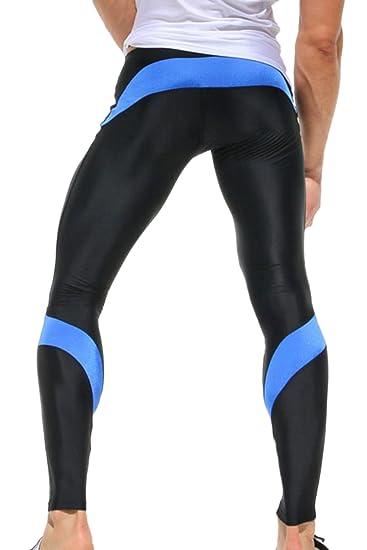 Amazon.com: Vosujotis Men Yoga Pants Sports Compression ...