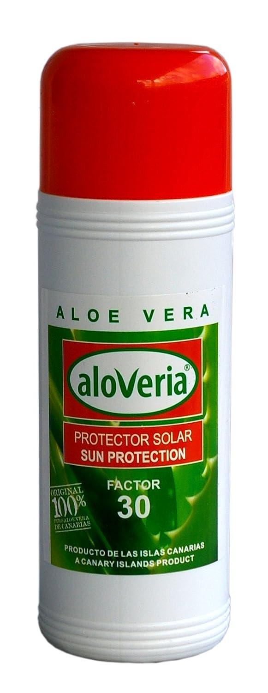 ALOVERIA® Protector sf30solaire–Protection Solaire Avec Aloe Vera issu de l'agriculture biologique