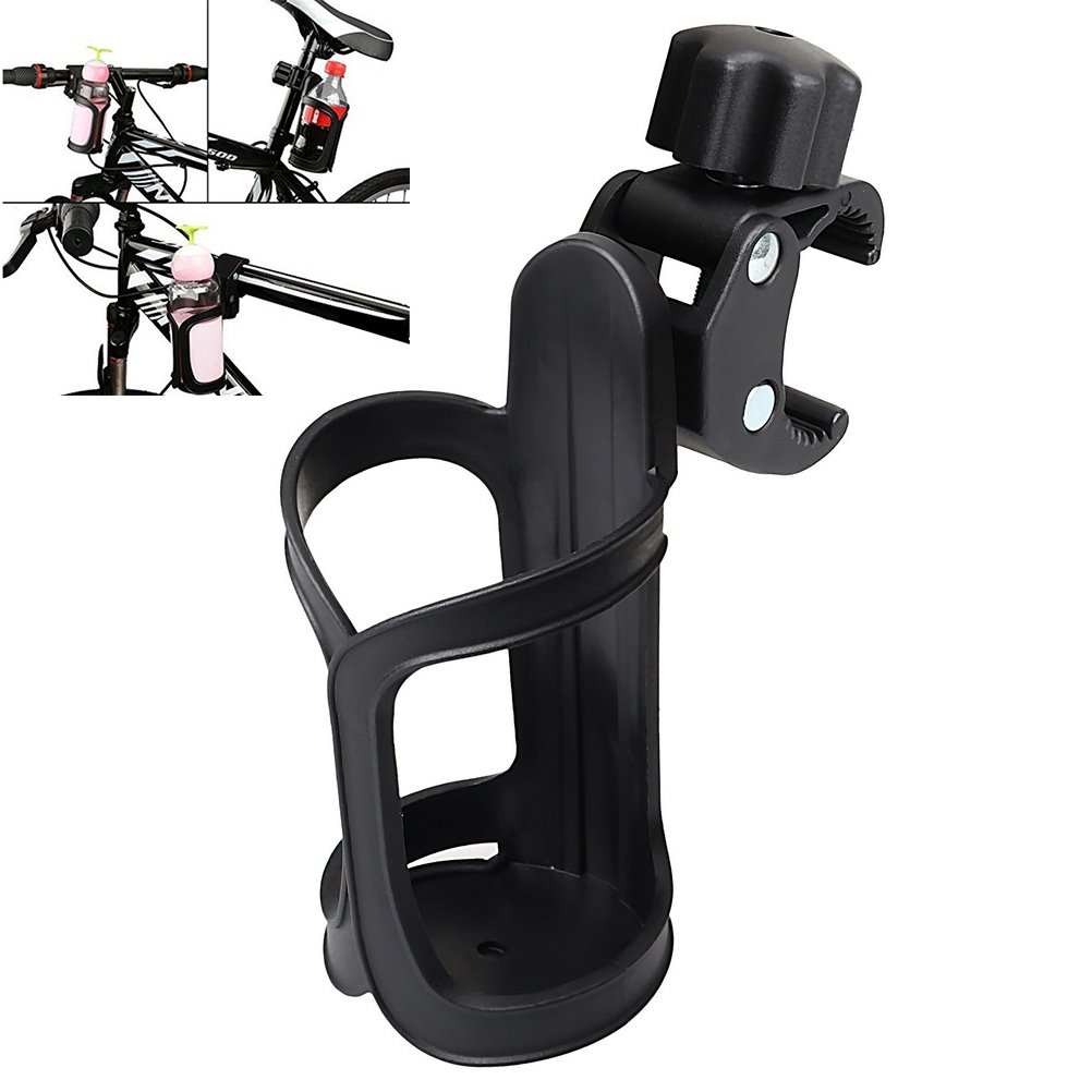 Bike Cup Holder, EUBags 360 Degrees Rotation Stroller Bottle Holder Antislip Cup Drink Holder For Baby Stroller, Pushchair, Bicycle, Wheelchair, Motorcycle