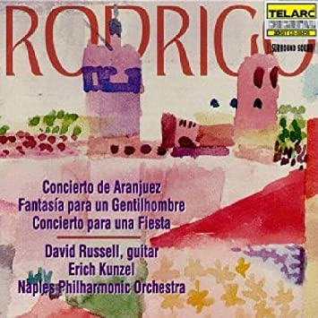 Amazon.com: Rodrigo: Concierto De Aranjuez / Fantasia ...