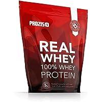 Prozis 100% Real Whey Proteine whey in polvere 1000 g - Delizioso gusto cioccolato con profilo di aminoacidi essenziali, ricco di BCAA per la massima crescita muscolare e il miglior recupero - 40 dosi