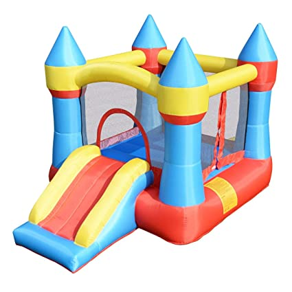 Amazon.com: LordBee - Castillo hinchable para niños, ideal ...