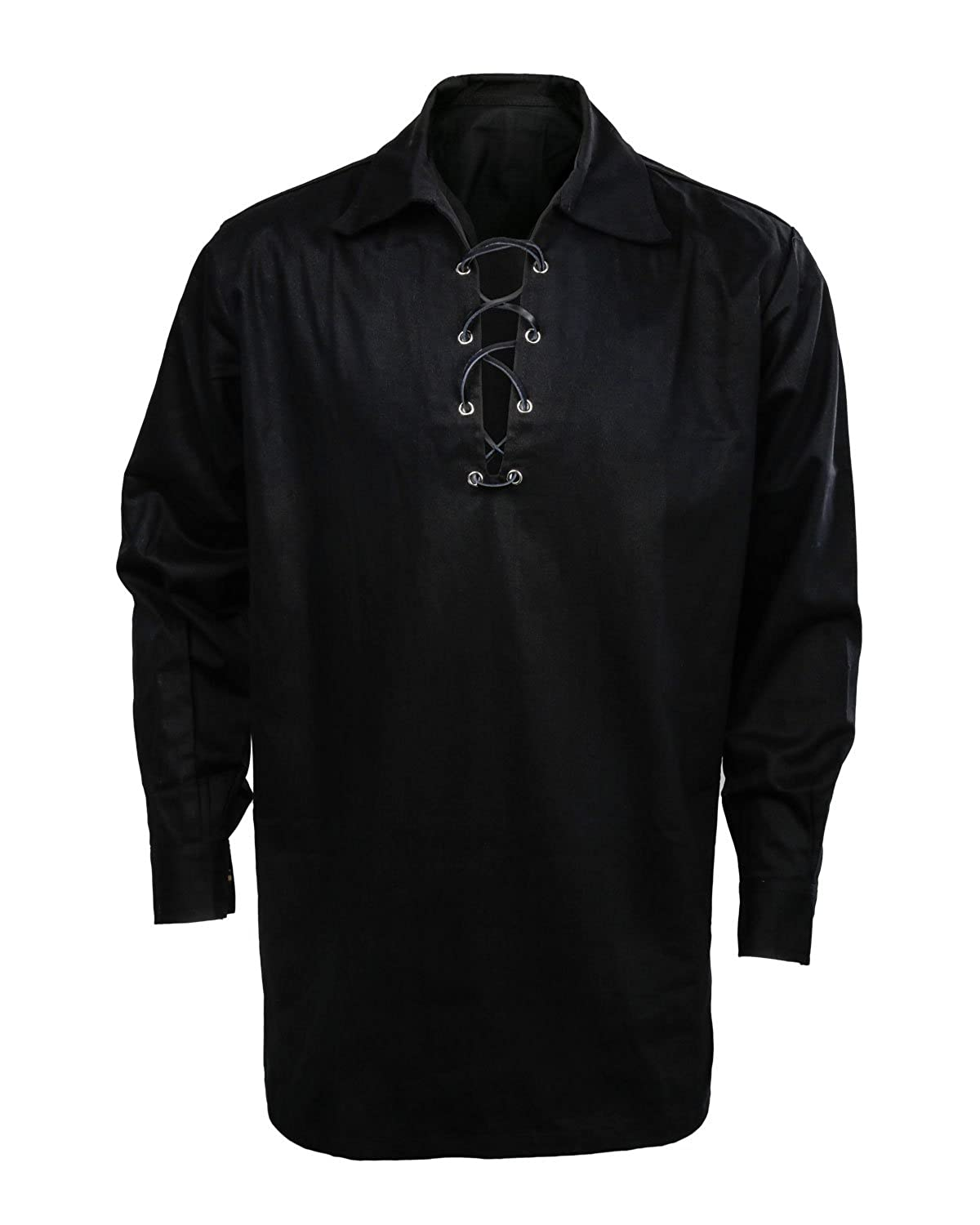 Jacobite Ghillie Shirt Black Pirate