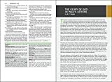 NIV, Faithlife Study Bible, Imitation Leather, Gray/Blue: Intriguing Insights to Inform Your Faith