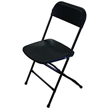 Celina tienda negro sillas plegable silla de plástico (caja ...