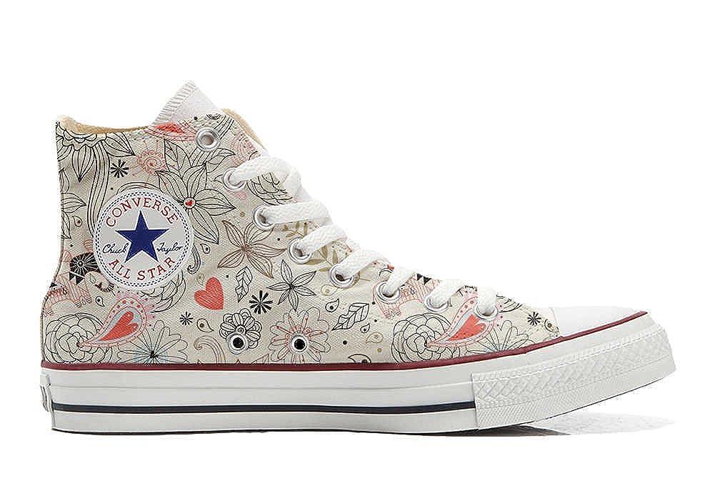 mys Converse All Star Chaussures Personnalisé Imprimés (Produit Artisanal) Delicate