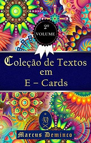 Amazon Colecao De Textos Em E Cards Volume 2 Portuguese