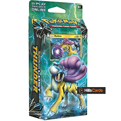 Pokemon TCG: Sun & Moon Lost Thunder Theme Deck Toy, Multicolor: Toys & Games