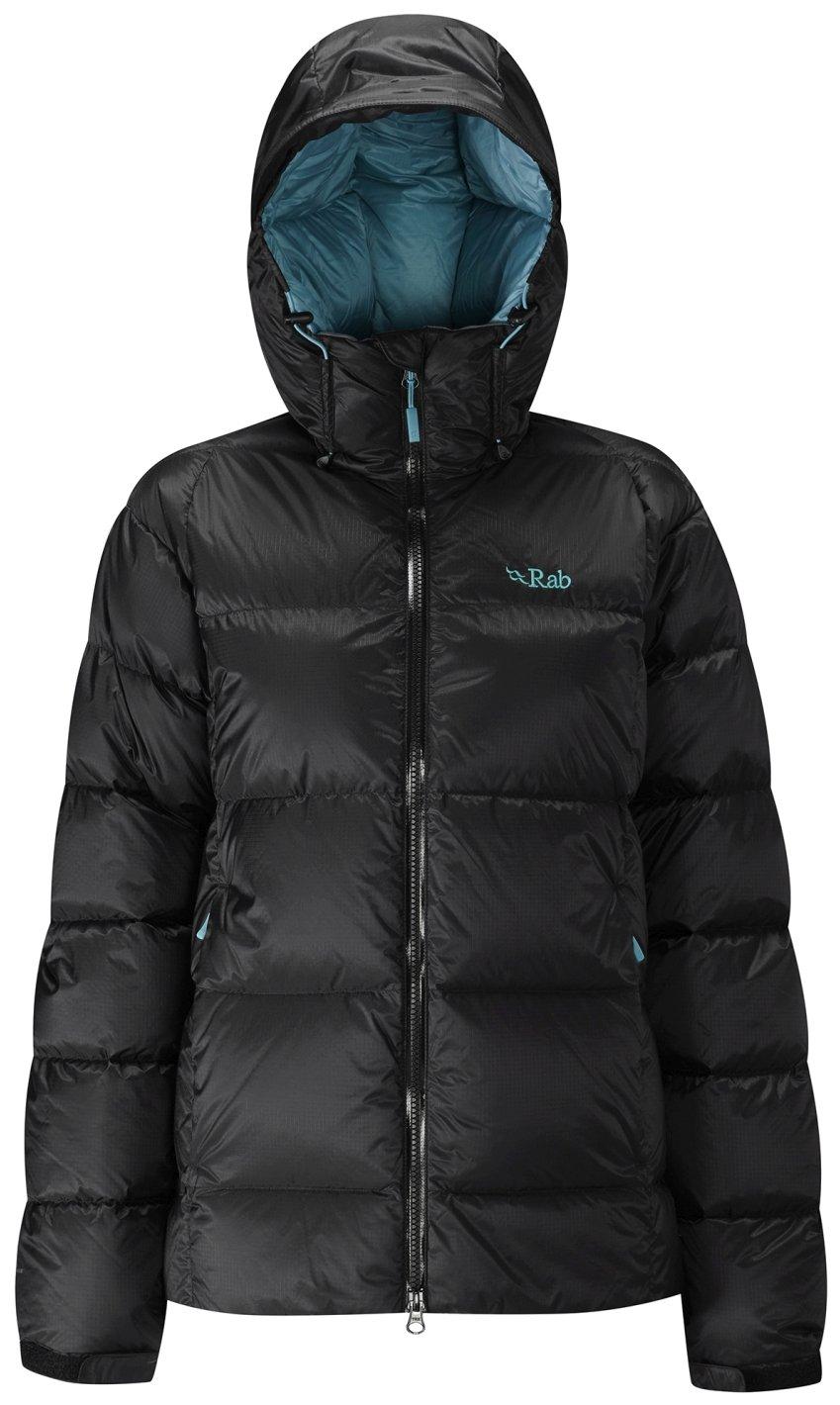 Rab Neutrino Endurance Jacket - Women's Black/Seaglass 12