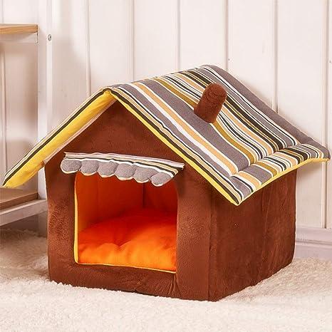 TJW Cama para Perro,Plegable Suave de Cama, Casa para Mascotas,doméstico para