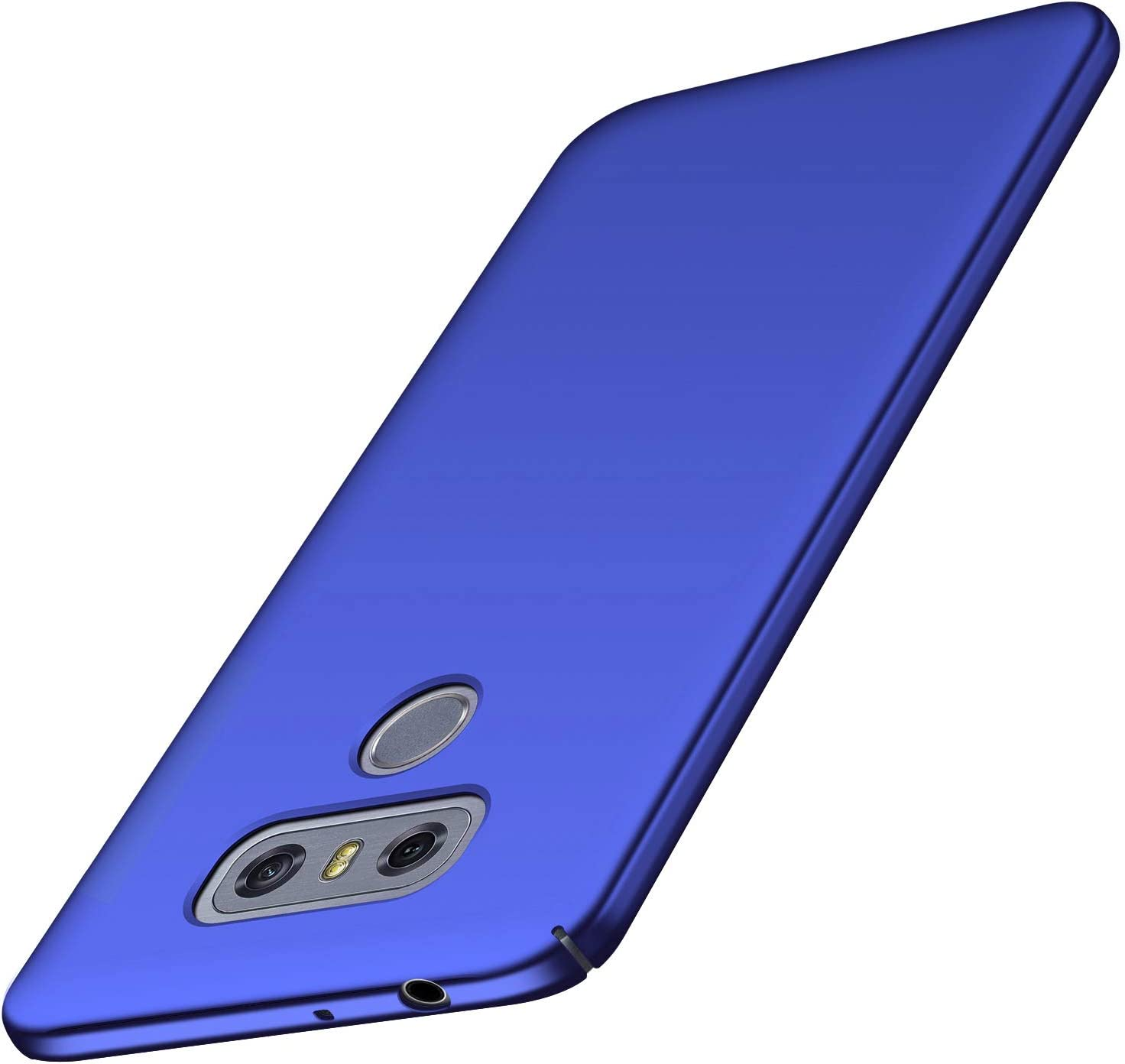 Arkour LG G6 Case, Minimalist Ultra Thin Slim Fit Smooth Matte Surface Hard PC Cover for LG G6 (Blue)