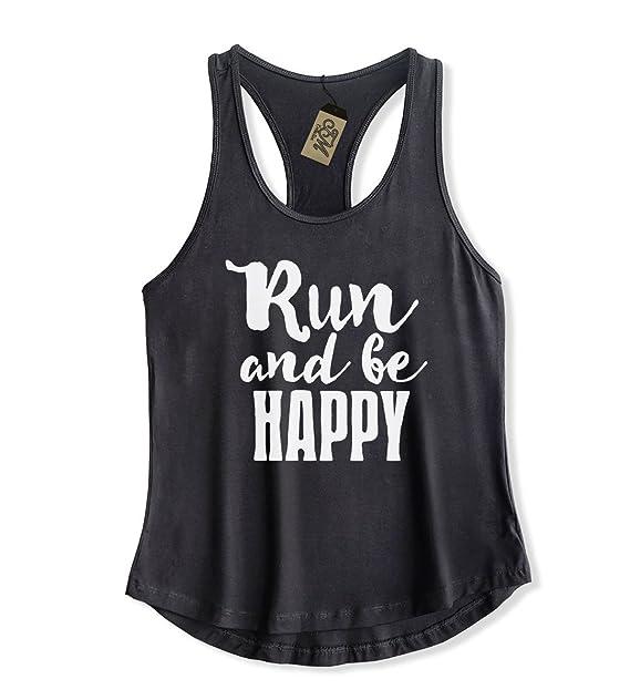 Teemixed womens workout tank top run and be happy at amazon womens teemixed womens workout tank top black small run and be happy publicscrutiny Choice Image