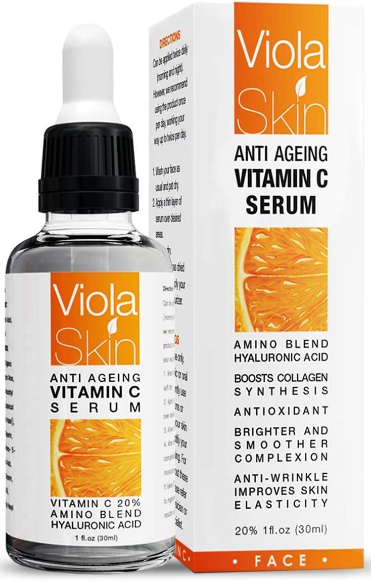 Viola Skin Anti-Aging Vitamin C Serum