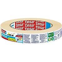 Tesa 05286-00000-03 Masking Tape Universal ecoLogo, 50m x 19mm, beige