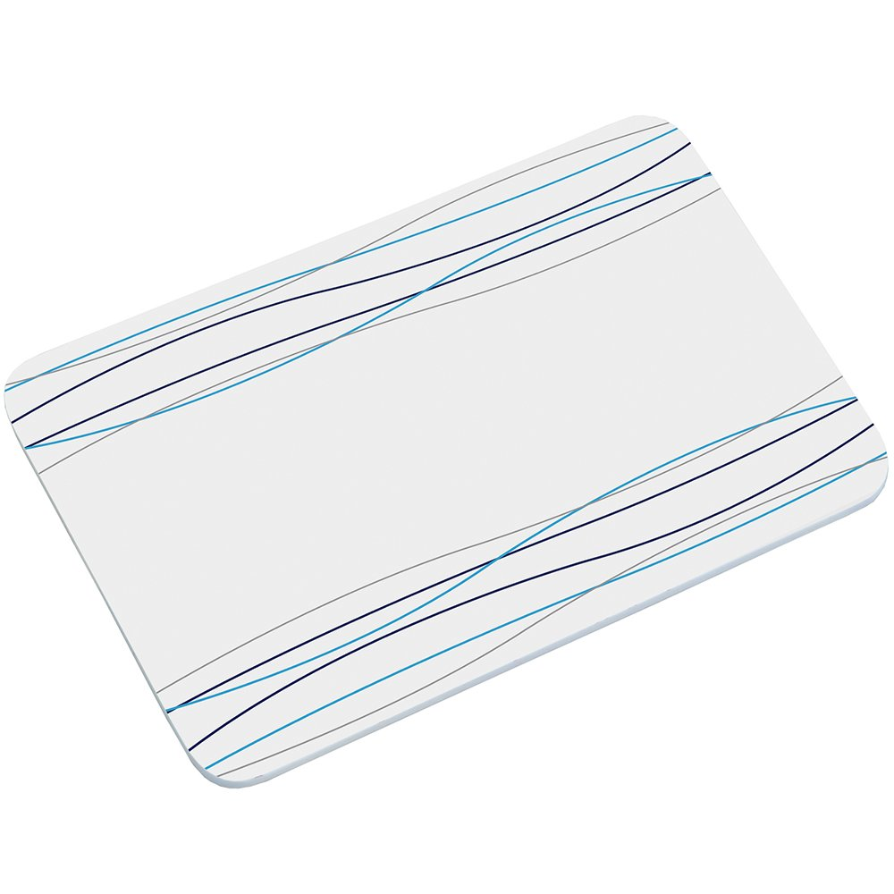 Melamine Kesper Lines//Blue Breakfast Board Multi-Colour