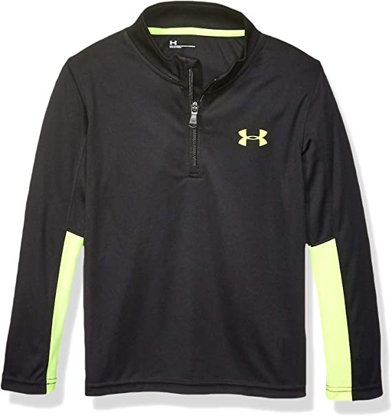 Under Armour Little Boys 1//4 Zip Tech Long Sleeve Shirt Pullover