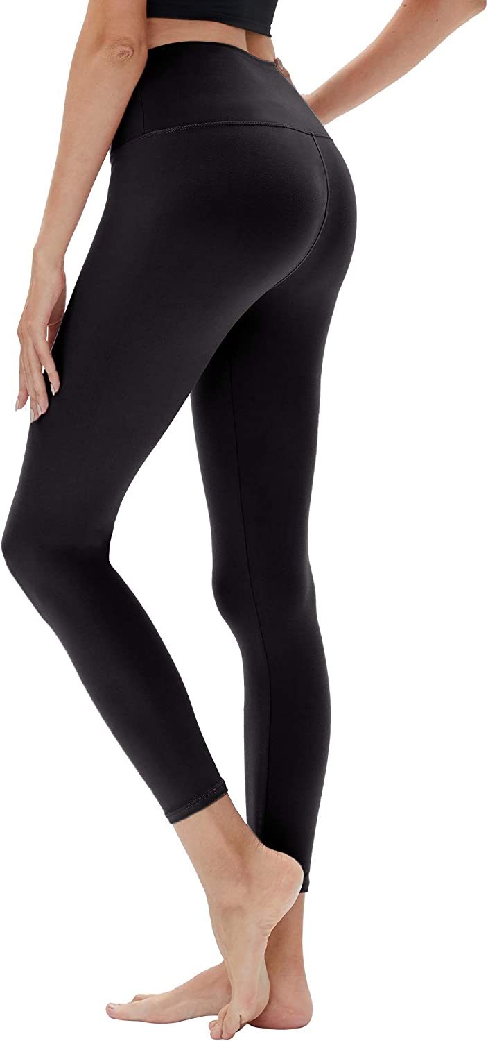 YOLIX High Waisted Leggings for Women-Buttery Soft /& 4-Way Stretchy Yoga Pant for Workout Fittness Traning